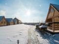 Gościniec nad Bukówką zimą