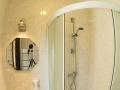 Łazienka w pokoju 2-osobowm - Gościniec nad Bukówką