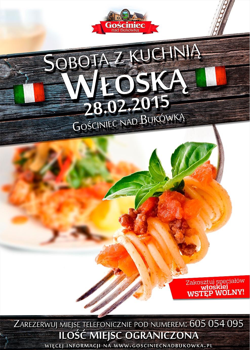 sobota z kuchnią włoską